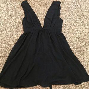 Selfie Leslie V Neck Mini Dress